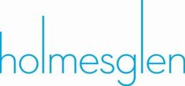 Homlesglen logo white