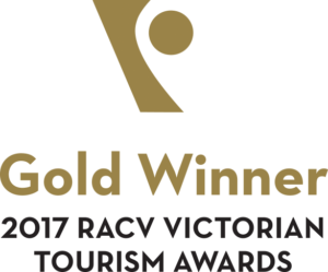 2017 RACV Victoria Tourism Awards Gold Winner
